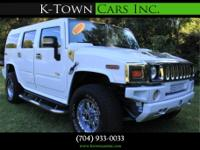 Options:  2005 Hummer H2 Sport Utility 4D|White|No