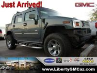 4WD! Short Bed! This stunning 2005 Hummer H2 SUT is the