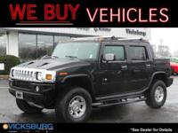 Options:  2005 Hummer H2 Sut Base|Black|Just Reduced!At
