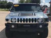 Options:  2005 Hummer H2 Sut Base|Blue|4.10 Rear Axle