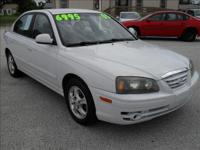 Options Included: N/A2005 HYUNDAI ELANTRA GLS SEDAN,