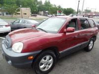 This outstanding example of a 2005 Hyundai Santa Fe GLS