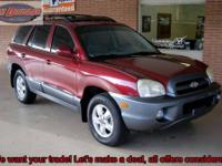 2005 Hyundai Santa Fe GLS SUV Pre-Owned. This is a