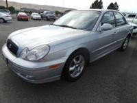 Hyundai Sonata LX, 19/27 MPG, Cloth Seats, Automatic,
