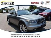 Recent Arrival! 2005 INFINITI FX35 AWD. Odometer is