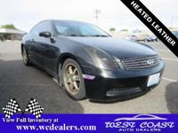 Black Obsidian 2005 INFINITI G35 RWD 5-Speed Automatic