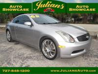 We present to you this 2005 Infiniti G35 Coupe...
