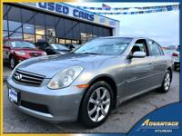 This Infiniti G35X Sedan will not last long! If you