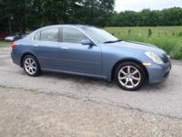 One Owner, Clean AutoCheck history! 2005 Infiniti G35x