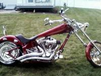 2005 IRON HORSE CHOPPER 111 SS MOTOR VERY LOW MILES -