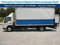 2005 Isuzu NPR Gas 18ft Box Side door Great truck ONLY