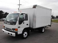 Great BUY! 2005 ISUZU NPR 12 ft BOX TRUCK ... WARRANTY