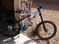 Nice downhill freeride bike super light 170 mm drop off