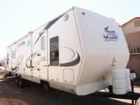 Is it a fantastically kept rear living travel trailer