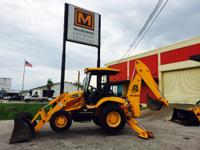2005 JCB 3CX This JCB backhoe is prepared to work and