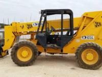 2005 JCB 508C Extendible Forklift. 2005 JCB 508C