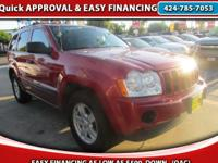 Year: 2005 Make: JEEP Model: GRAND CHEROKEE LAREDO Call