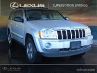 Clean CARFAX. Grand Cherokee Limited, HEMI 5.7L V8