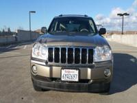 Options:  2005 Jeep Grand Cherokee Limited 4Dr 4Wd