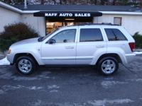 Options Included: N/A2005 Jeep Grand Cherokee Limited
