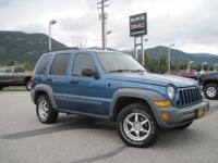 Just in on Local trade. This 2005 Jeep liberty comes