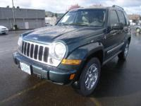 2005 Jeep Liberty 4dr 4x4 Limited Edition Limited