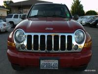 Options:  2005 Jeep Liberty Limited 4Wd 4Dr Suv W/