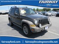New Price! PowerTech 3.7L V6, 4WD. 2005 Jeep Liberty