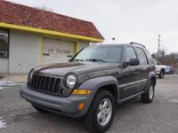 Options:  2005 Jeep Liberty Sport|Sport 4Wd 4Dr