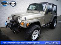 2005 Jeep Wrangler X ***** Power Tech 4.0L I6, 6-Speed