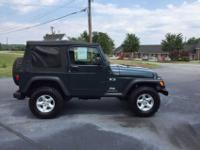 2005 JEEP WRANGLER X two DOOR four wheel-drive SPORT