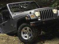 Just Reduced! 2005 Jeep Wrangler, Black, Completely