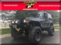 Options:  2005 Jeep Wrangler 2Dr Rubicon|The Ultimate