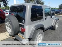 Jeep Wrangler  Clean CARFAX.  **Accident Free Carfax
