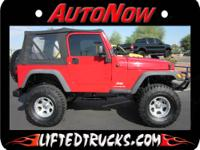 AWESOME JEEP 4X4 FEATURING A LONG TRAVEL OFF ROAD