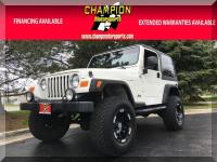 Options:  2005 Jeep Wrangler Sport 2Dr Sport|Champion