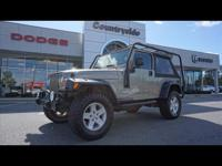 This CHAMPAGNE 2005 Jeep Wrangler Unlimited might be