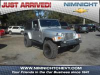 Unlimited trim. LOW MILES - 56,351! CD Player, 4x4,
