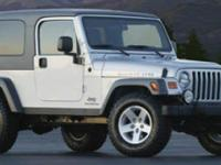 Here's a great deal on a 2005 Jeep Wrangler! It comes