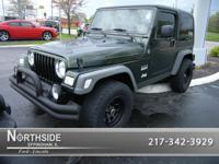 Options Included: N/AThis Green 2005 Jeep Wrangler X