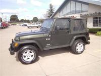 Options Included: N/AUsed 2005 Jeep Wrangler 4x4
