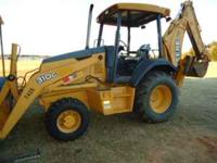 2005 John Deere 310G 4x4 loader backhoe with 2,900