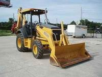 2005 John Deere 310 SG turbo 4x4 loader backhoe with