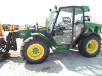 2005 John Deere 3240 SIEVERS-HAMEL 4x4x4 5455 HRS CAB