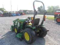 VERY NICE JOHN DEERE 4010 4WD TRACTOR with 410 front