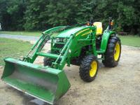 I HAVE A YERY NICE 2005 JOHN DEERE 4120 4 X 4 TRACTOR ,
