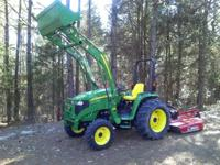 PRICE REDUCED $4,520 - 2005 John Deere 4520 4x4 with a