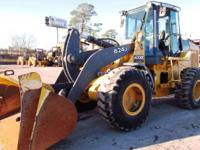 2005 John Deere 624J 2005 Deere 624J Wheel Loader 3.5