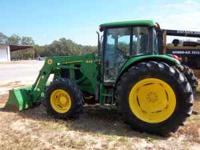 2005 John Deere 6415 4x4 Farm Tractor with only 2200