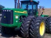 Hello, and thank you for reading this ad. This JD 9620